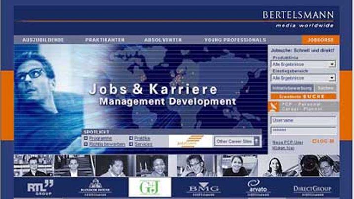 Jobsuche im Internet: Die Top Ten der Unternehmen