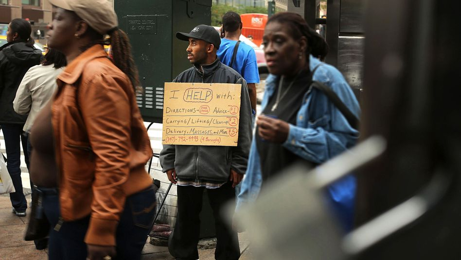 Arbeitsloser in New York: Studie mit verblüffendem Ergebnis