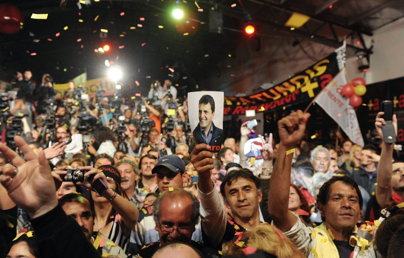 Oposition candidate Massa wins in the mayor Argentine district