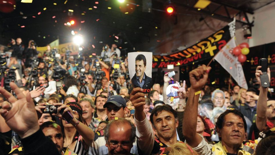 Unterstützer von Konkurrent Massa: Kirchner muss Schlappe einstecken