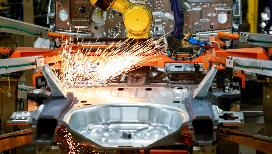 Ford-Produktion in Chicago: US-Industriemanager werden immer optimistischer