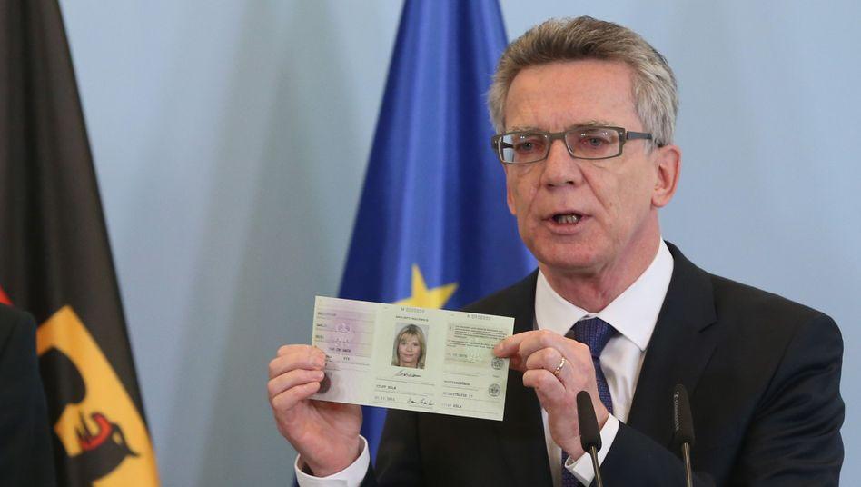 """Innenminister de Maizière: """"Wirklich fortschrittlich"""""""