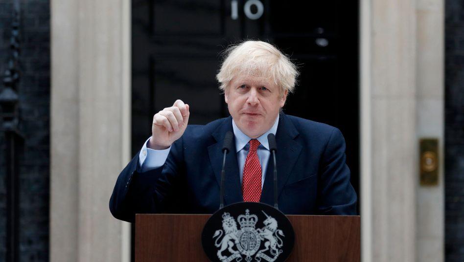 """Boris Johnson: Verständnis für die """"Ungeduld"""" der Briten"""