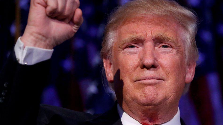 Künftiger US-Präsident Trump