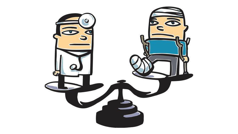 Arzt und Patient: Sprechstunden verkommen immer häufiger zu Blitz-Gesprächen