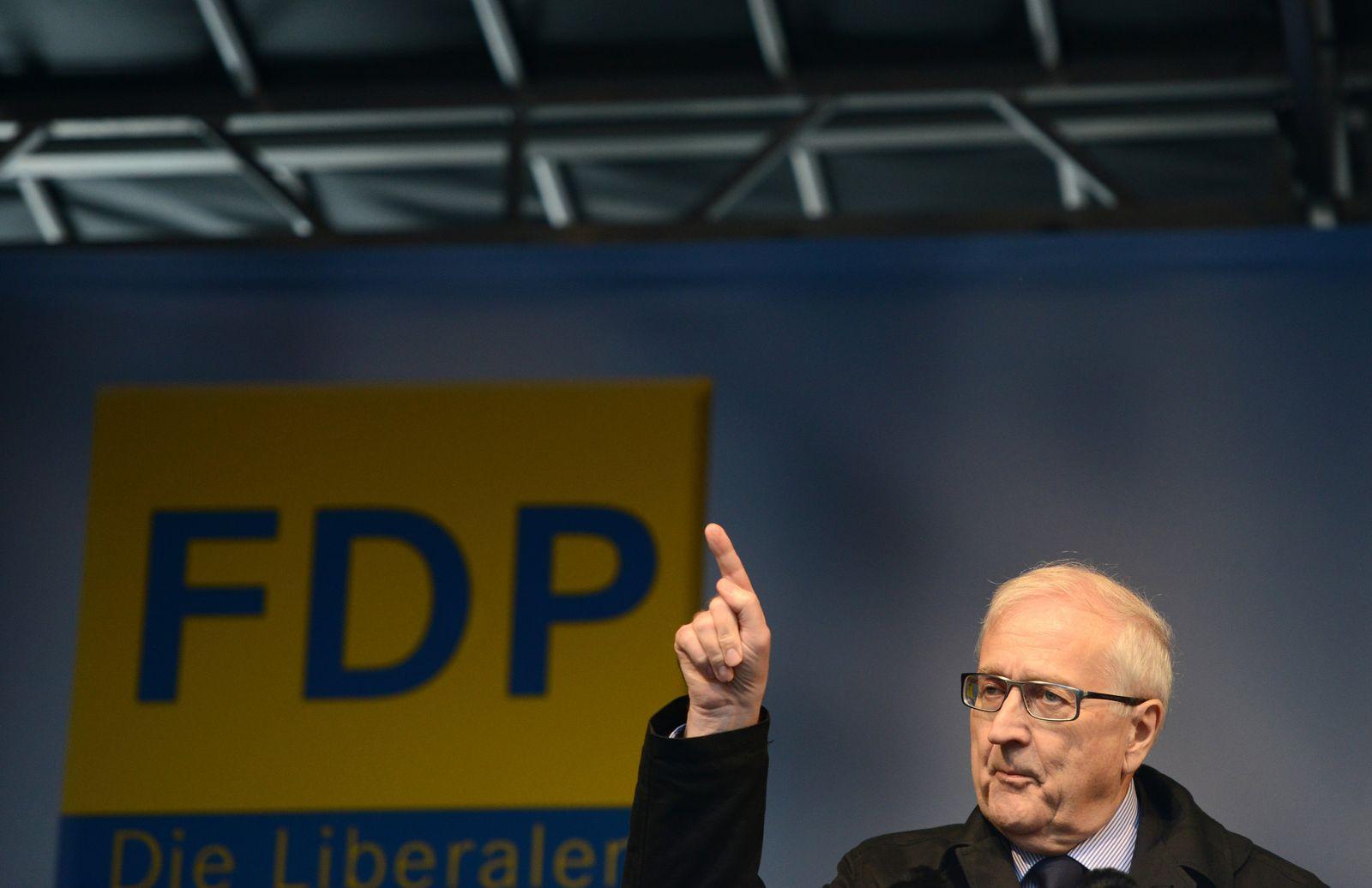 FDP Wahlkampf NRW Brüderle