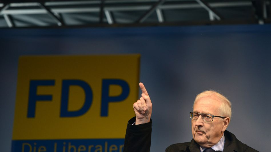 """FDP-Spitzenkandidat Brüderle in Dortmund: """"Im Grunde überflüssig"""""""