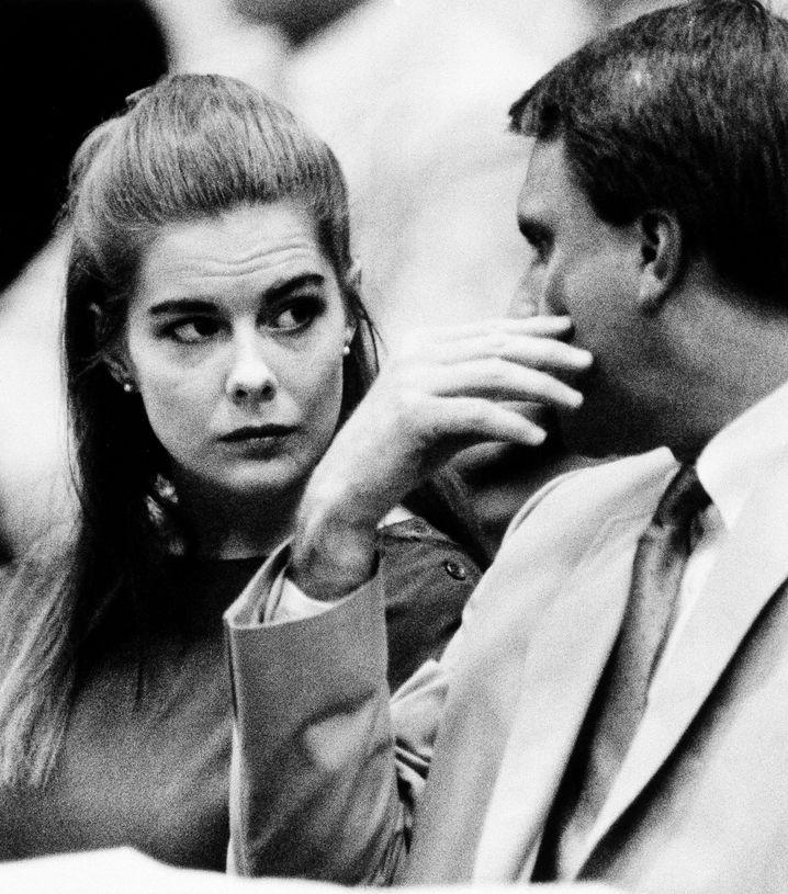 Elizabeth Haysom 1987 vor Gericht