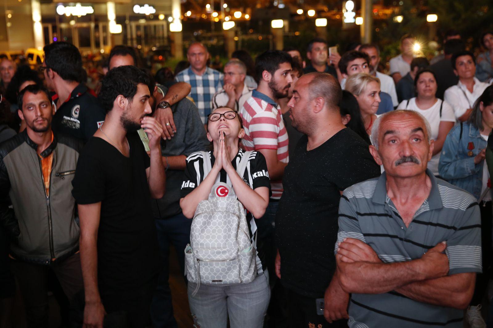 Wahlparty/ CHP/ Türkei