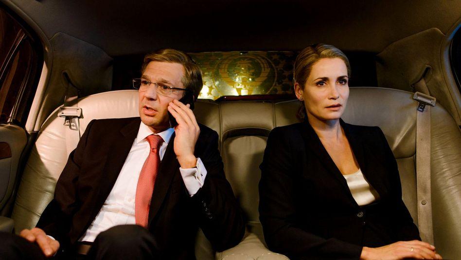 Wulff (Kai Wiesinger) und Frau Bettina (Anja Kling): Kaum Zuschauerinteresse