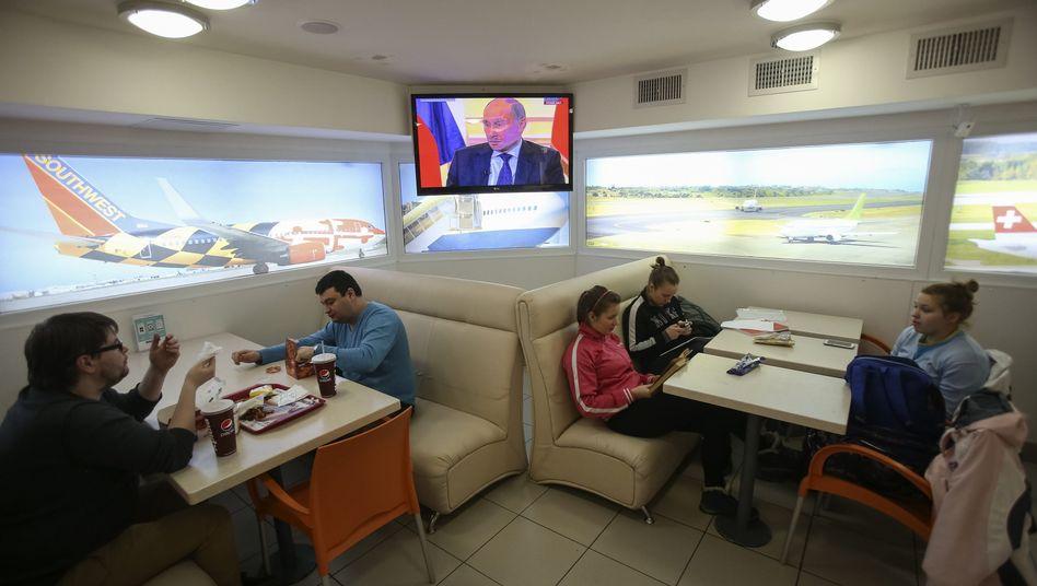 Russisches TV im Krim-Konflikt: Die Bösen sind immer auf der anderen Seite