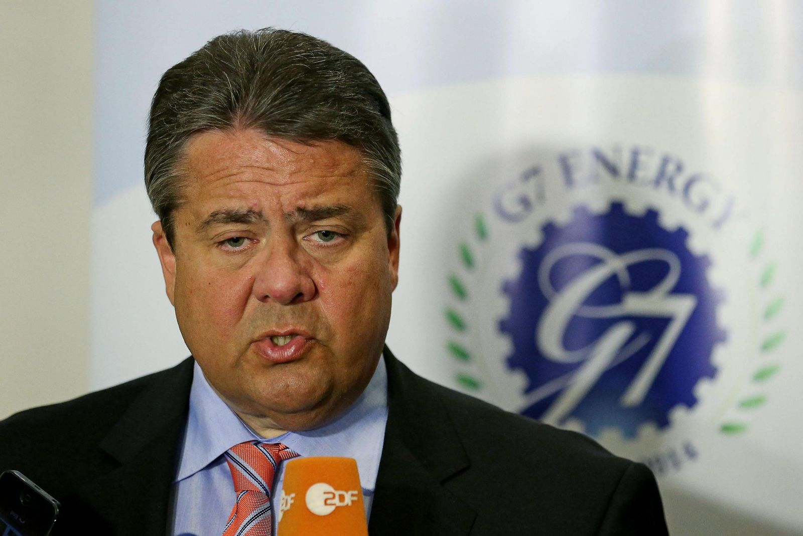 G7 Energiegipfel Rom / Sigmar Gabriel