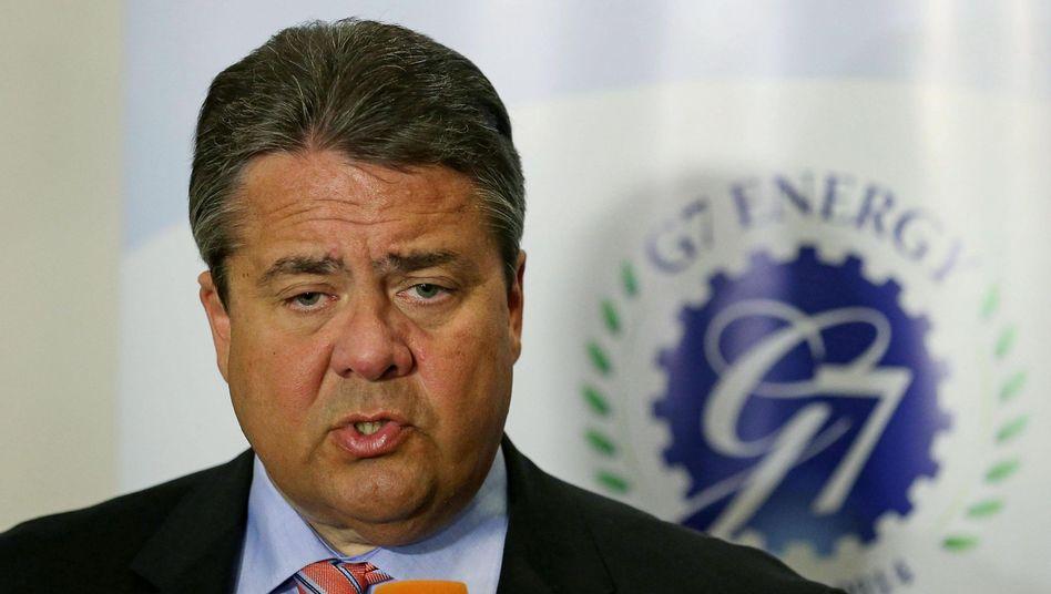 """Wirtschaftsminister Gabriel: """"Wir sind keine Ersatzaußenminister"""""""