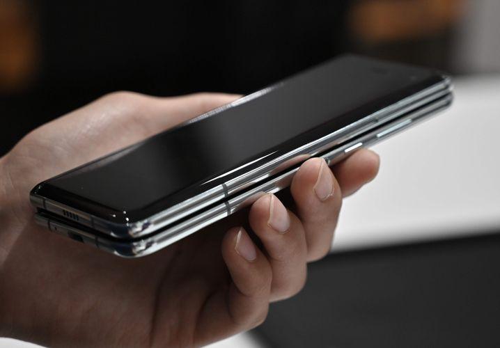 Der Spalt zwischen Ober- und Unterseite ist bei zugeklapptem Handy nicht mehr ganz so groß