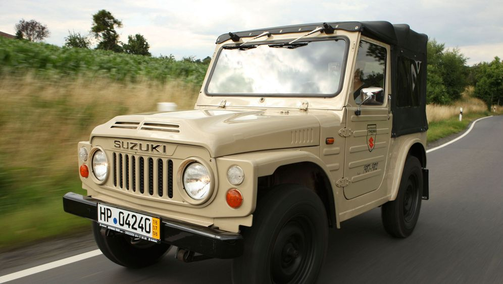 Günstige Oldtimer - Suzuki LJ: Die Wühlmaus
