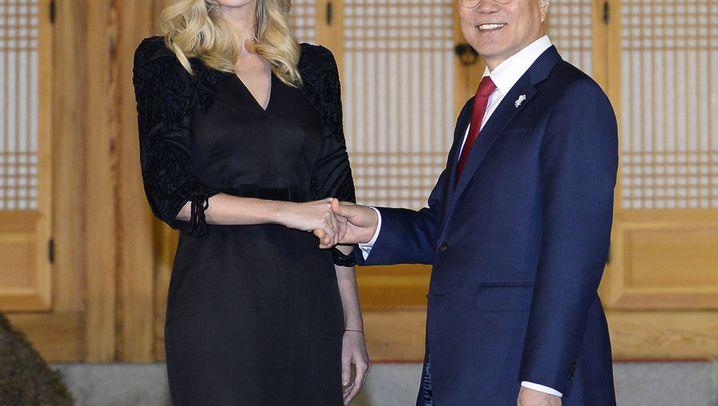 Ivanka Trump in Südkorea: Tochter, Fan und Repräsentantin