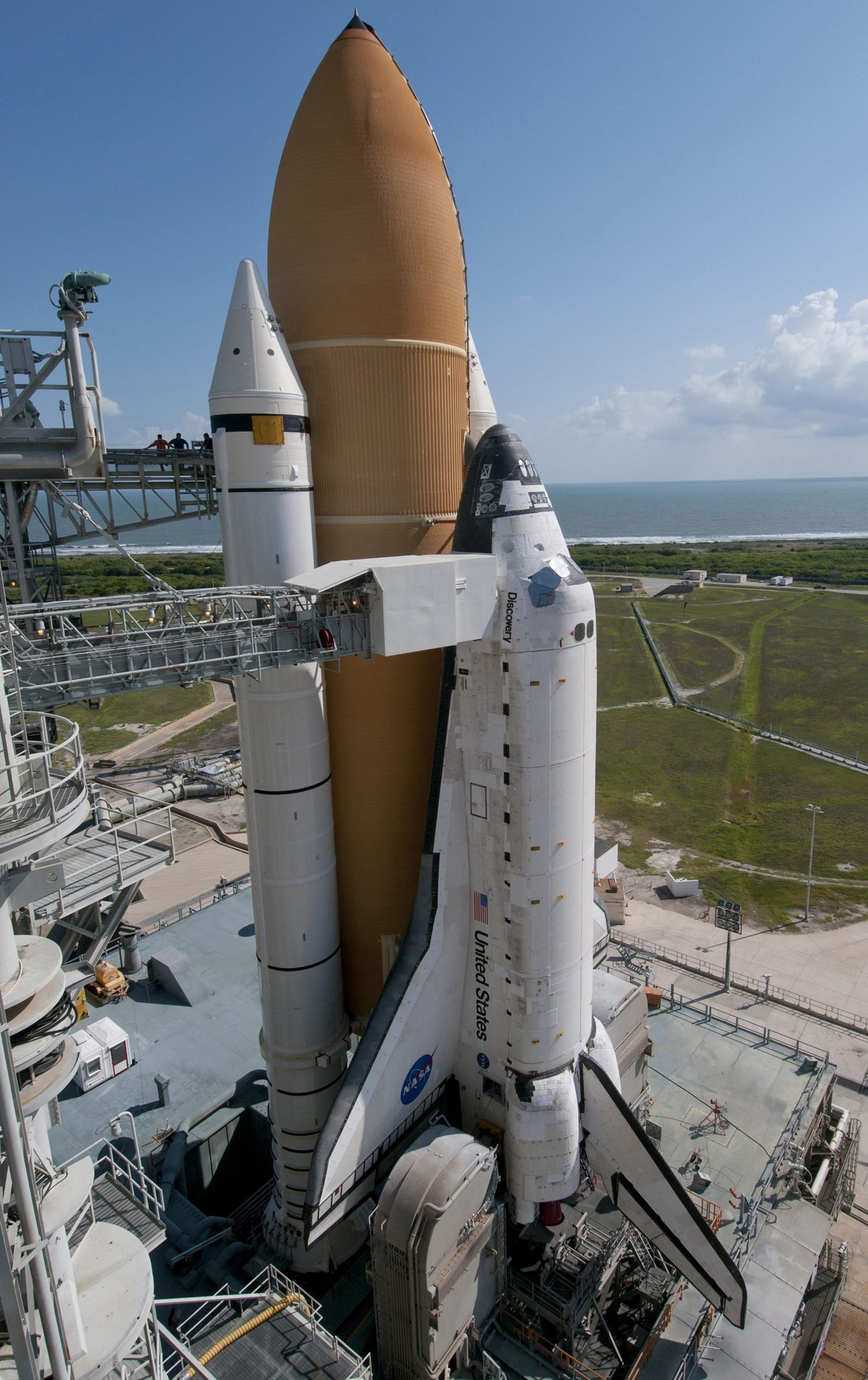 USA Shuttle Discovery Launch Delayed until 2011 Kennedy Space Cen
