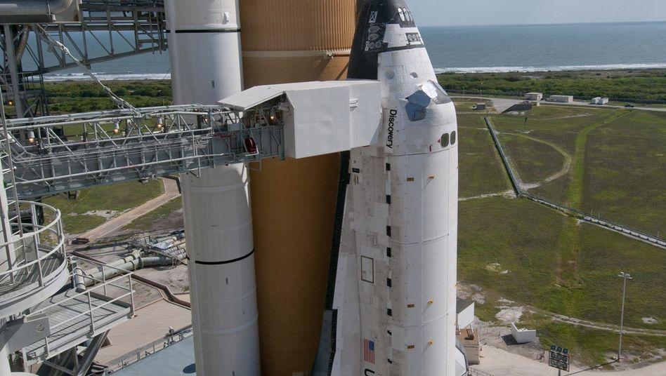 "Raumfähre ""Discovery"": Start frühestens im Februar"