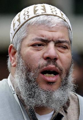 Hassprediger Abu Hamza: In London Inhaftiert