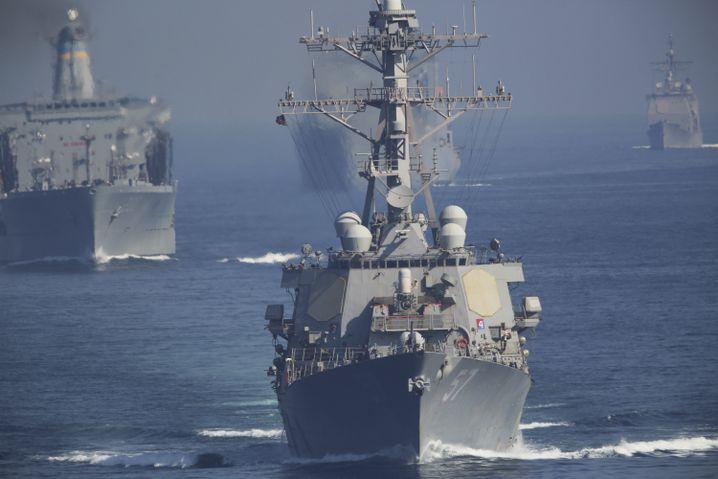 US-Zerstörer im persischen Golf