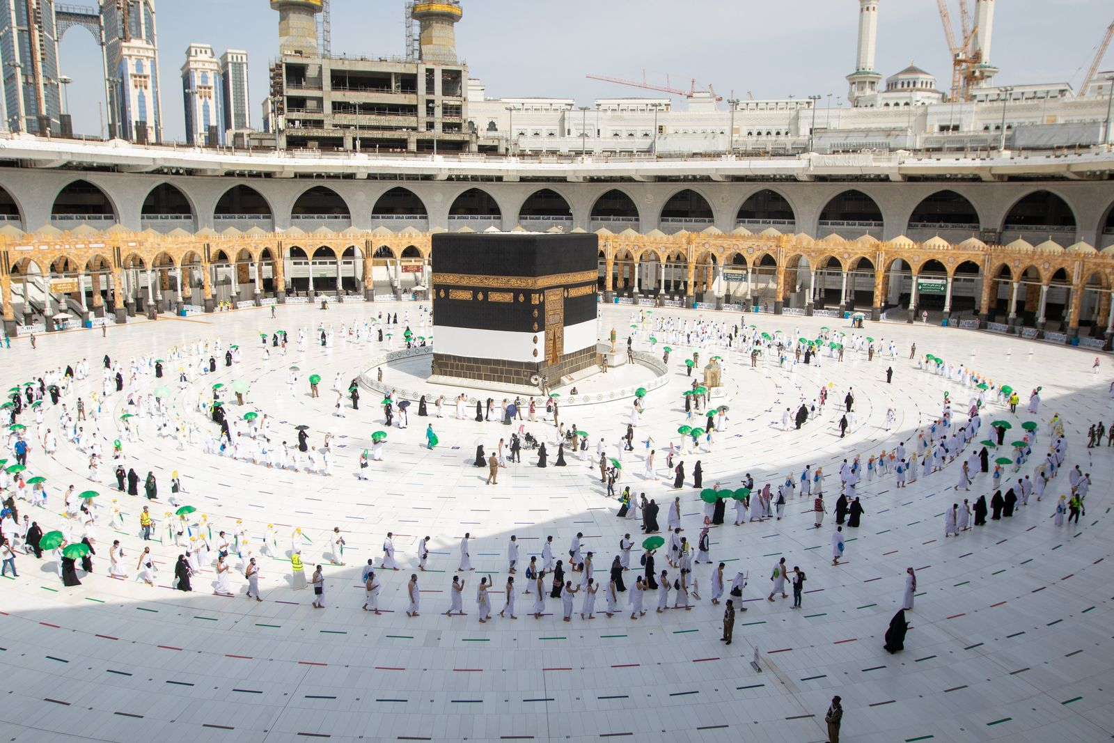 Hadsch-Pilgerfahrt nach Mekka
