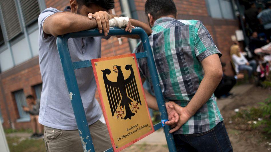 Asylbewerber in Berlin