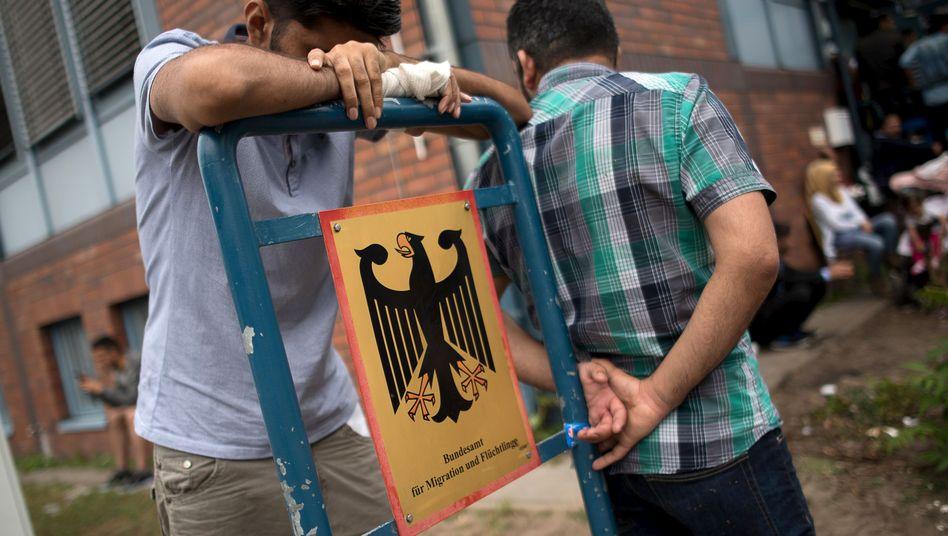 Flüchtinge in Berlin (Archivbild von 2015)
