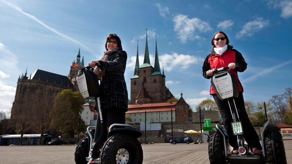 Segway-Roller: Aufrecht durch die Stadt