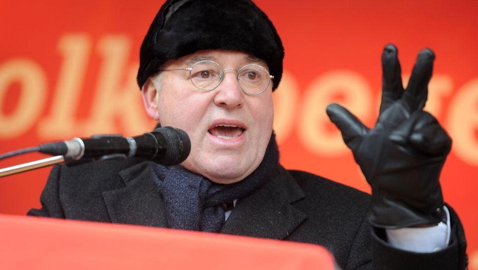 Linken-Politiker Gysi: Seit Jahrzehnten immer wieder Stasi-Vorwürfe