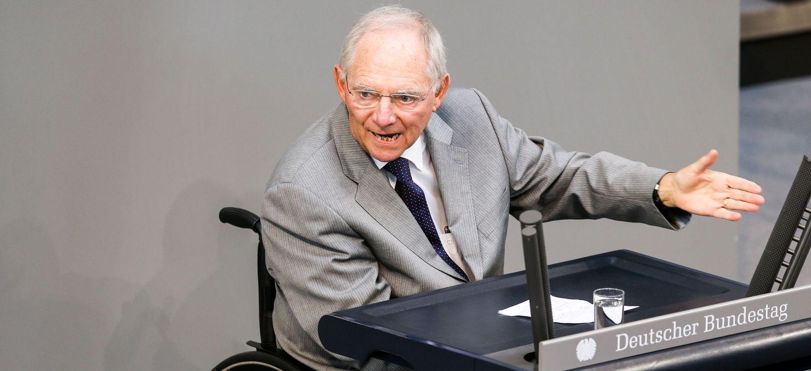 Bundestag Schäuble