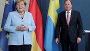 Die Bundeskanzlerin und der Besuch aus Schweden