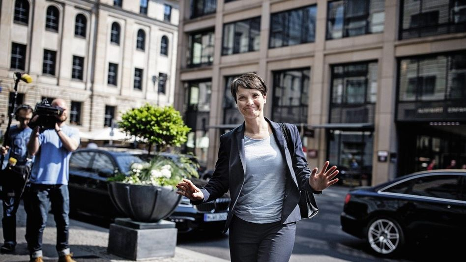 AfD-Chefin Petry: Meisterin des Aussitzens