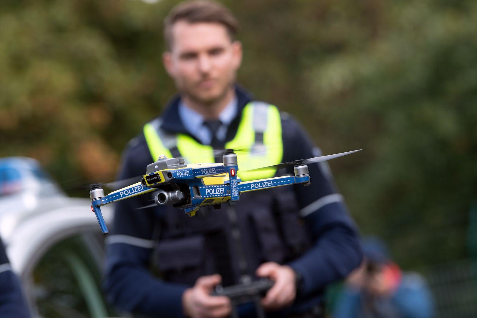 Drohnen bei der Polizei in Nordrhein-Westfalen