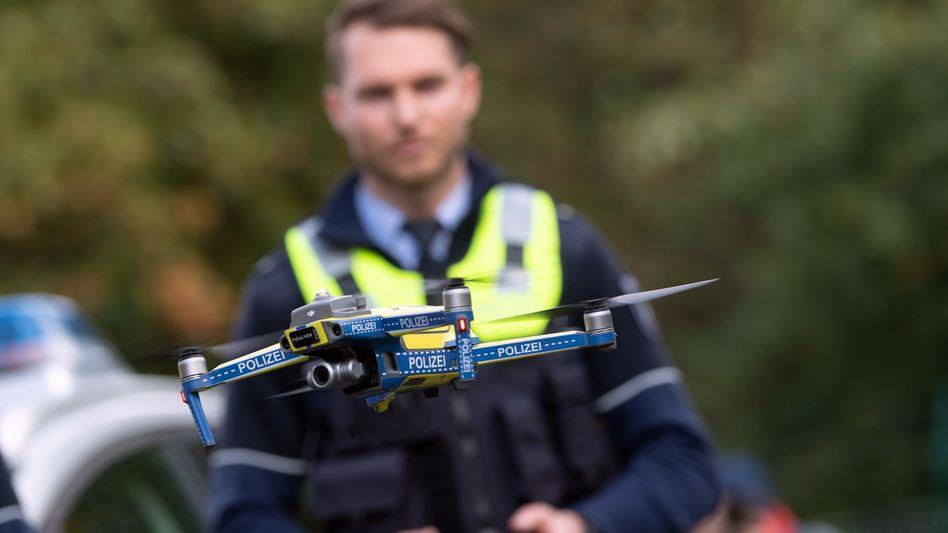 Polizeidrohnen wie diese sollen ab 2021 zahlreichen Polizeistellen in Nordrhein-Westfalen zur Verfügung stehen