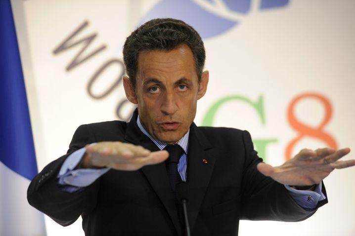 "Frankreichs Präsident Sarkozy: ""Multimonetäre Welt"""