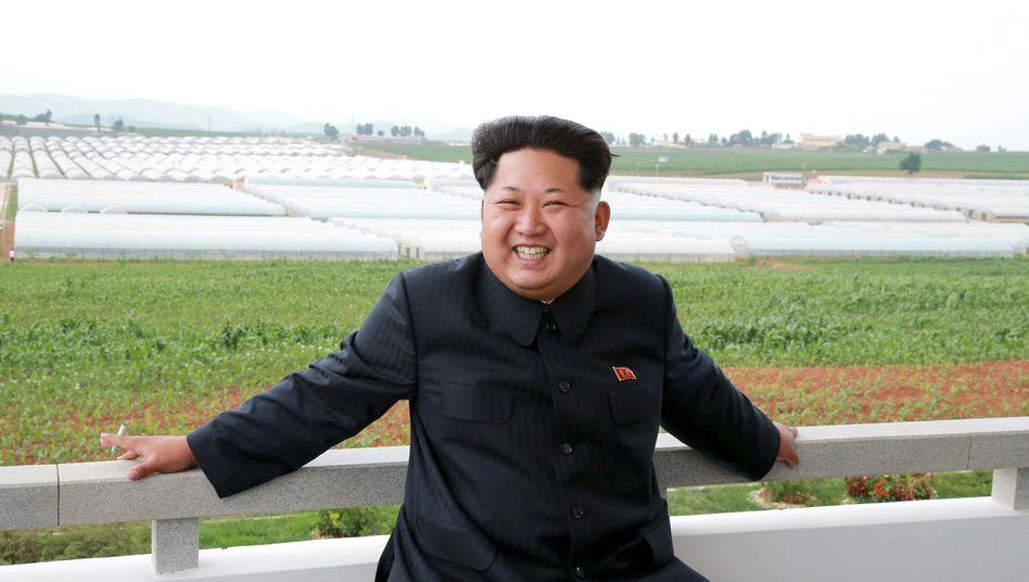 Nordkoreas Staatschef Kim Jong Un: Besuch aus Slowenien
