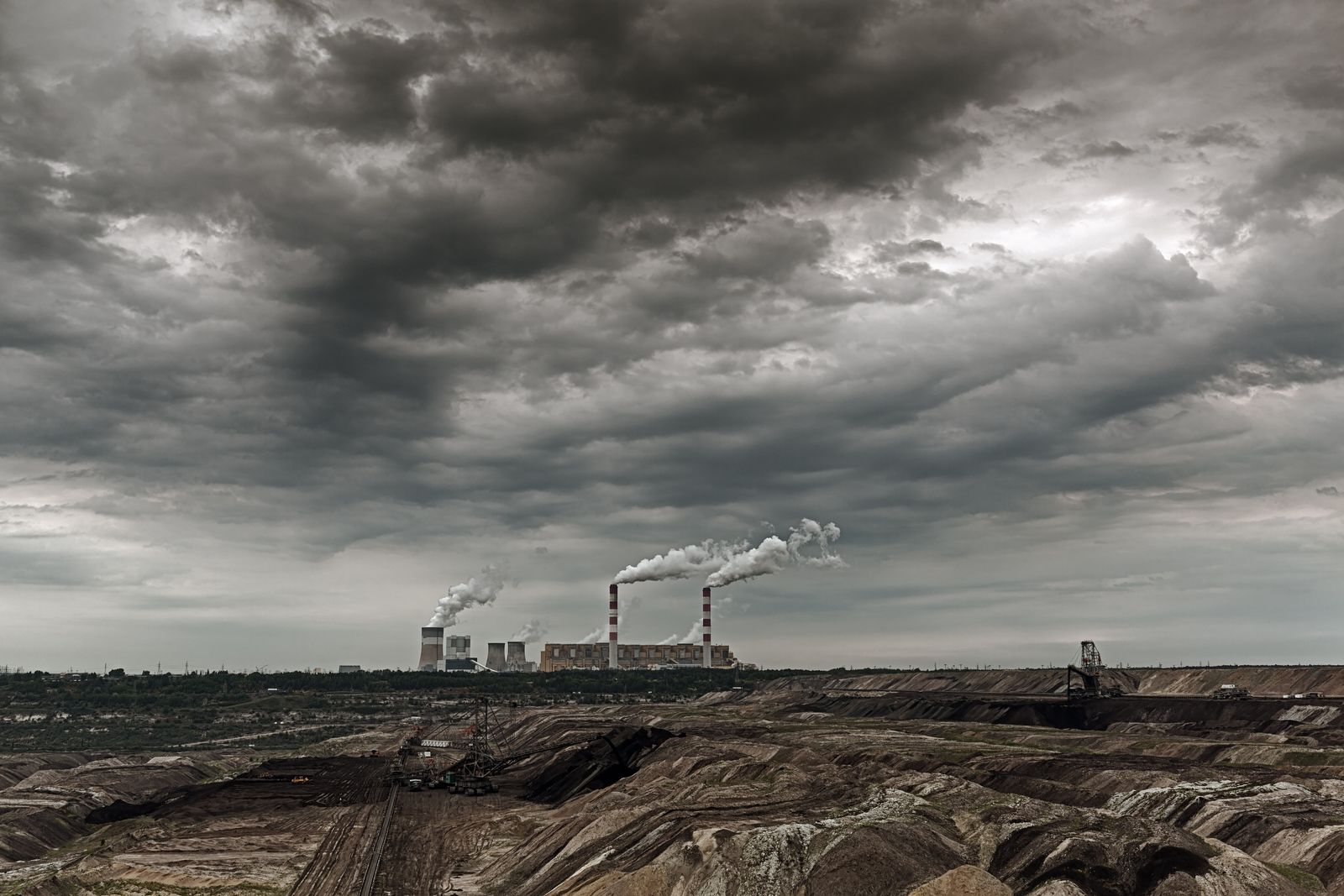 EINMALIGE VERWENDUNG Belchatow Kohlekraftwerk