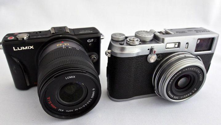 Fujifilm X100: Retro-Optik, riesiger Bildsensor