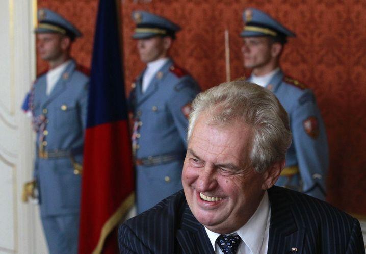 Präsident Milos Zeman