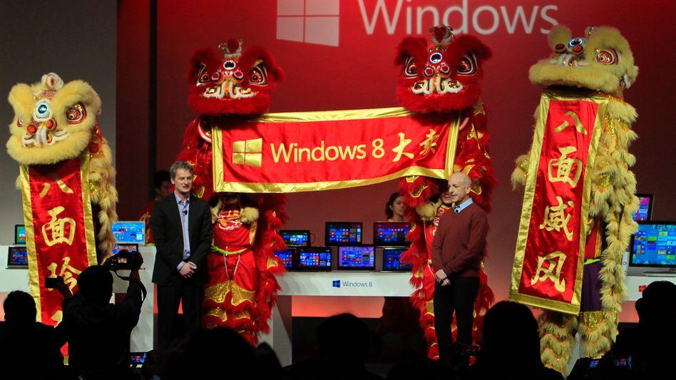 Windows-Vorstellung in Shanghai 2012: China ermittelt wegen De-facto-Monopol