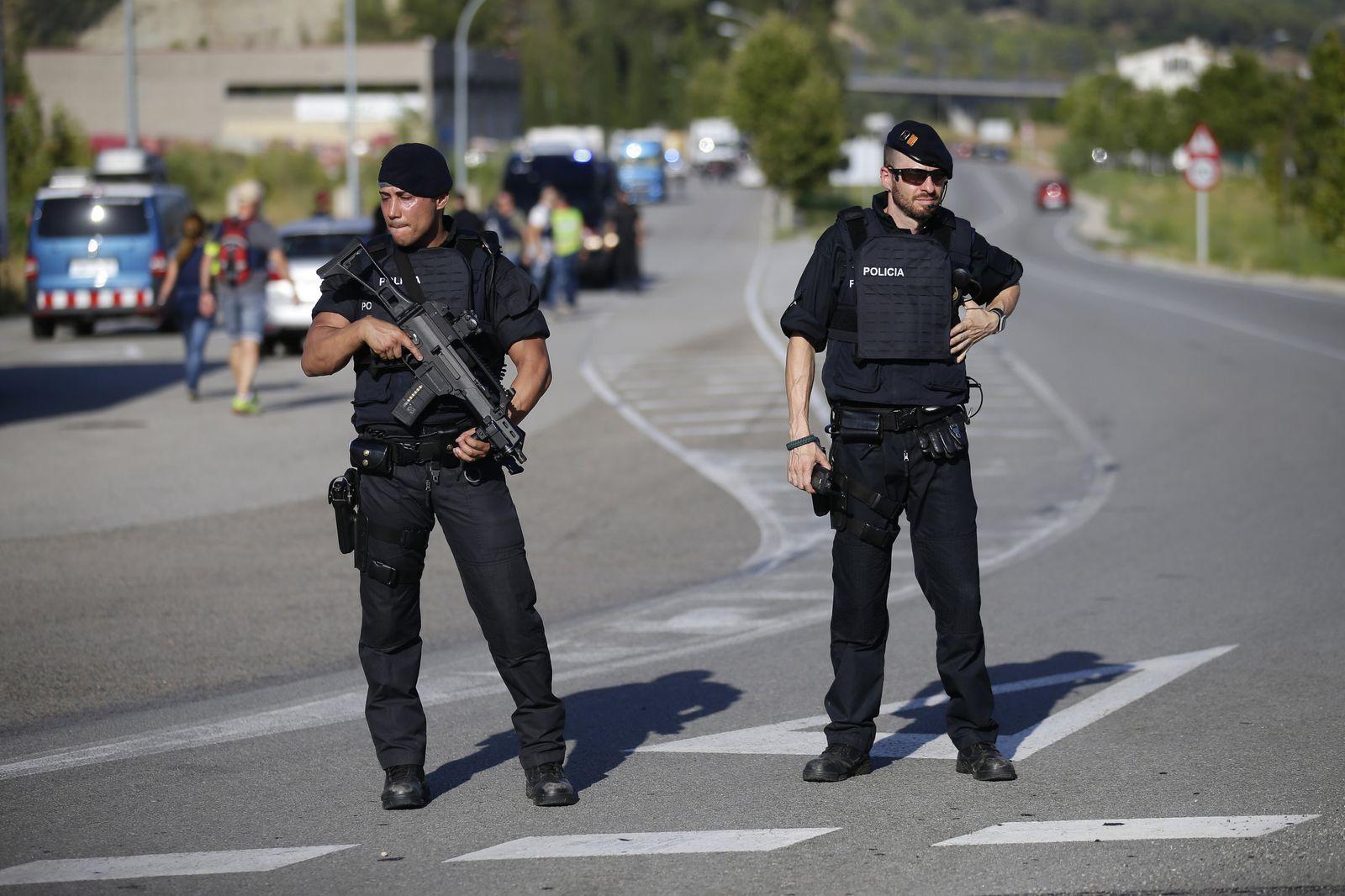 Spanische Polizisten