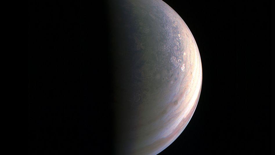 Der Nordpol des Jupiters