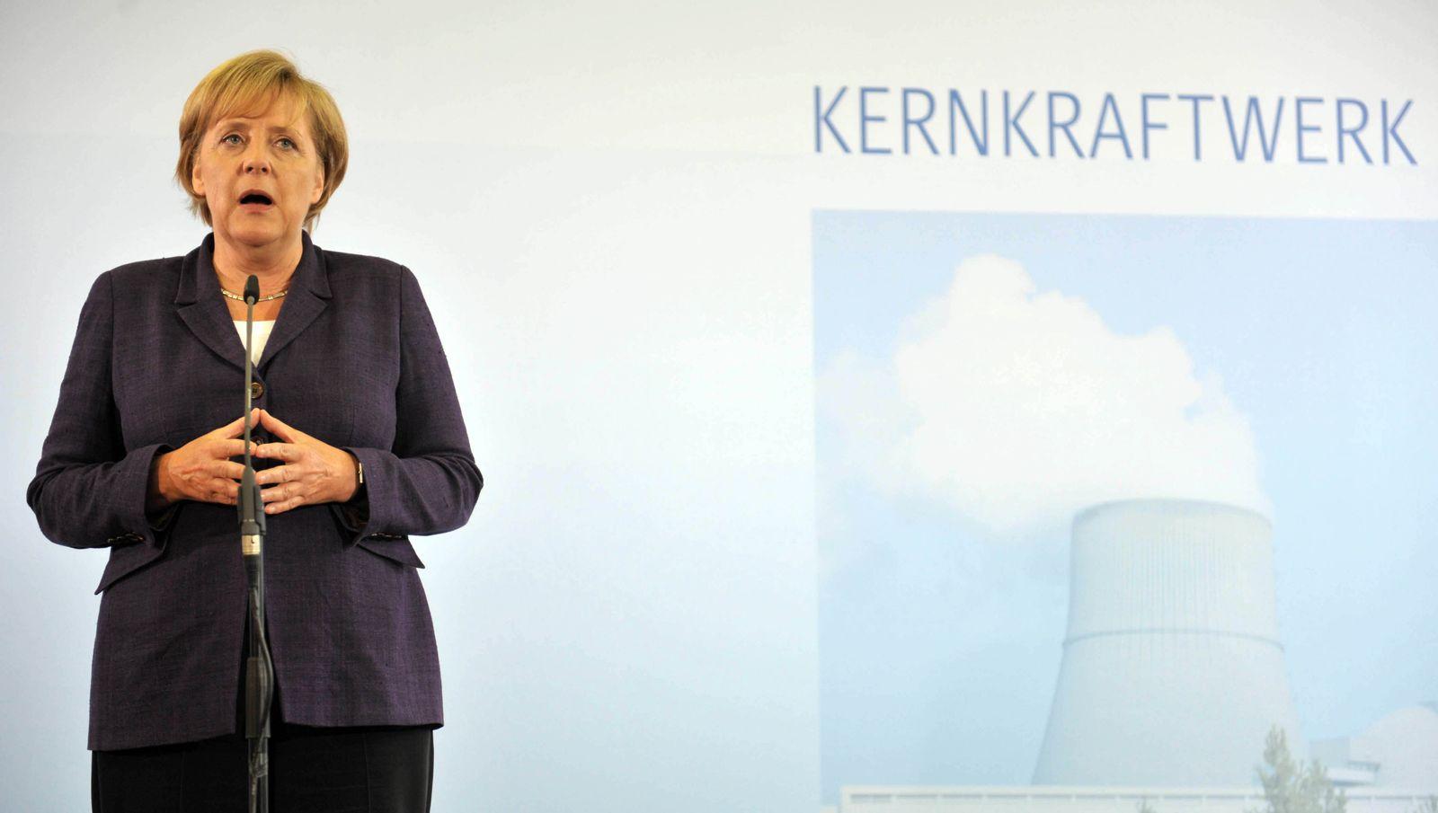 Merkel: 10 bis 15 Jahre längere AKW-Laufzeiten