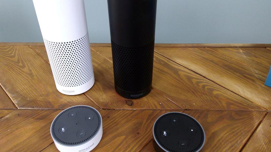 """Lautsprecher aus Amazons Echo-Serie: """"Digitale Spuren erkennen, sichern, auszuwerten"""""""