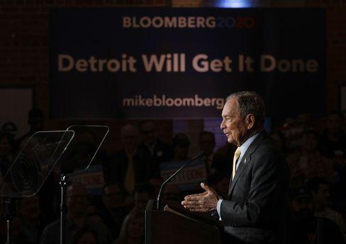 Gefahr mit Geld: Multimilliardär Mike Bloomberg