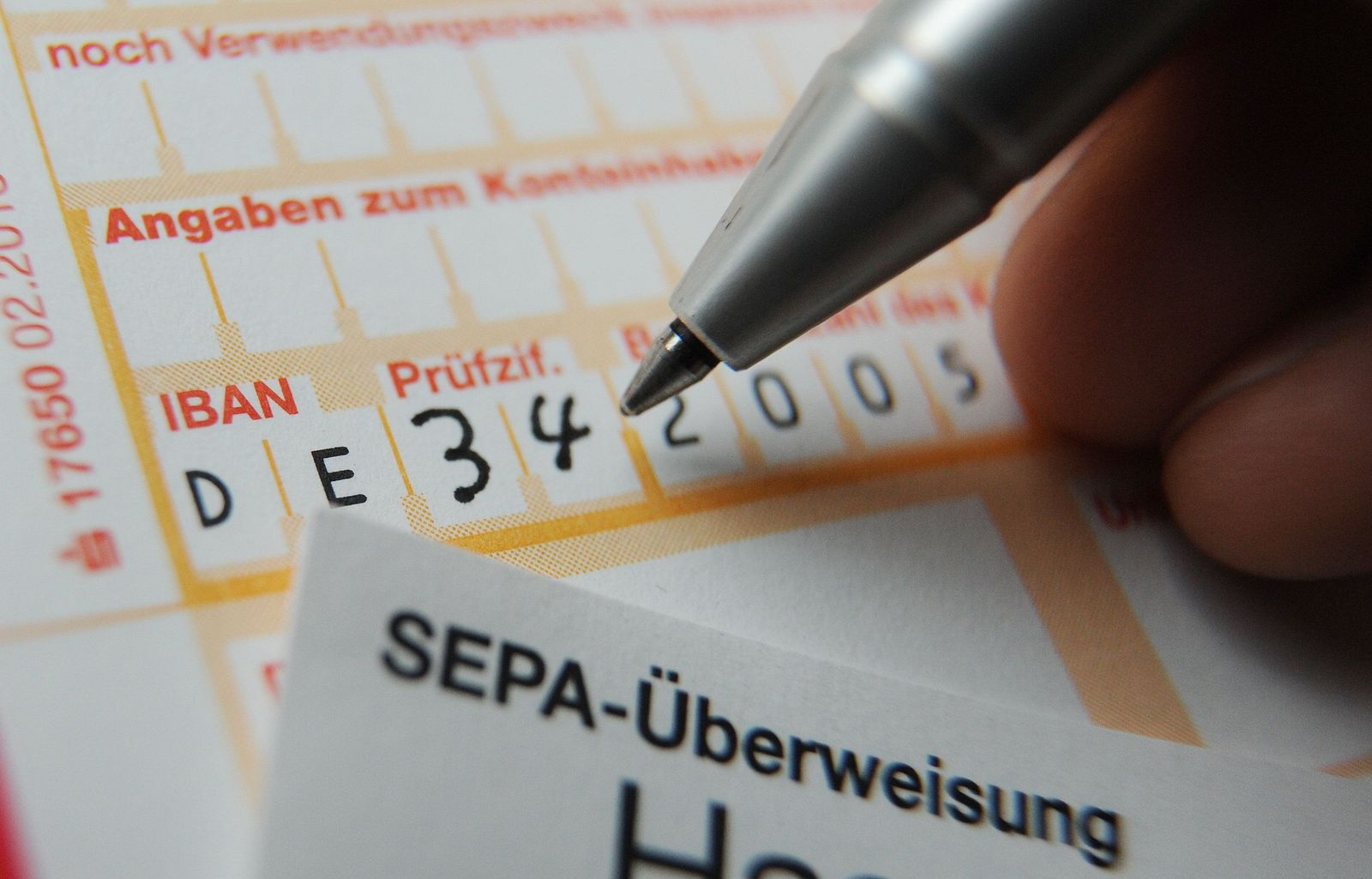 SEPA-Überweisungsträger