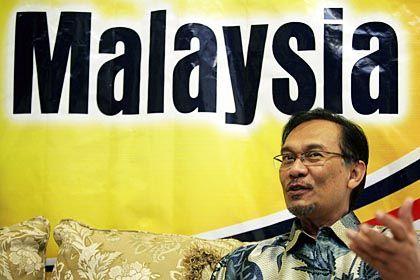 """Ex-Vizepremier Anwar Ibrahim: """"Wir kleben nicht an der Macht"""""""