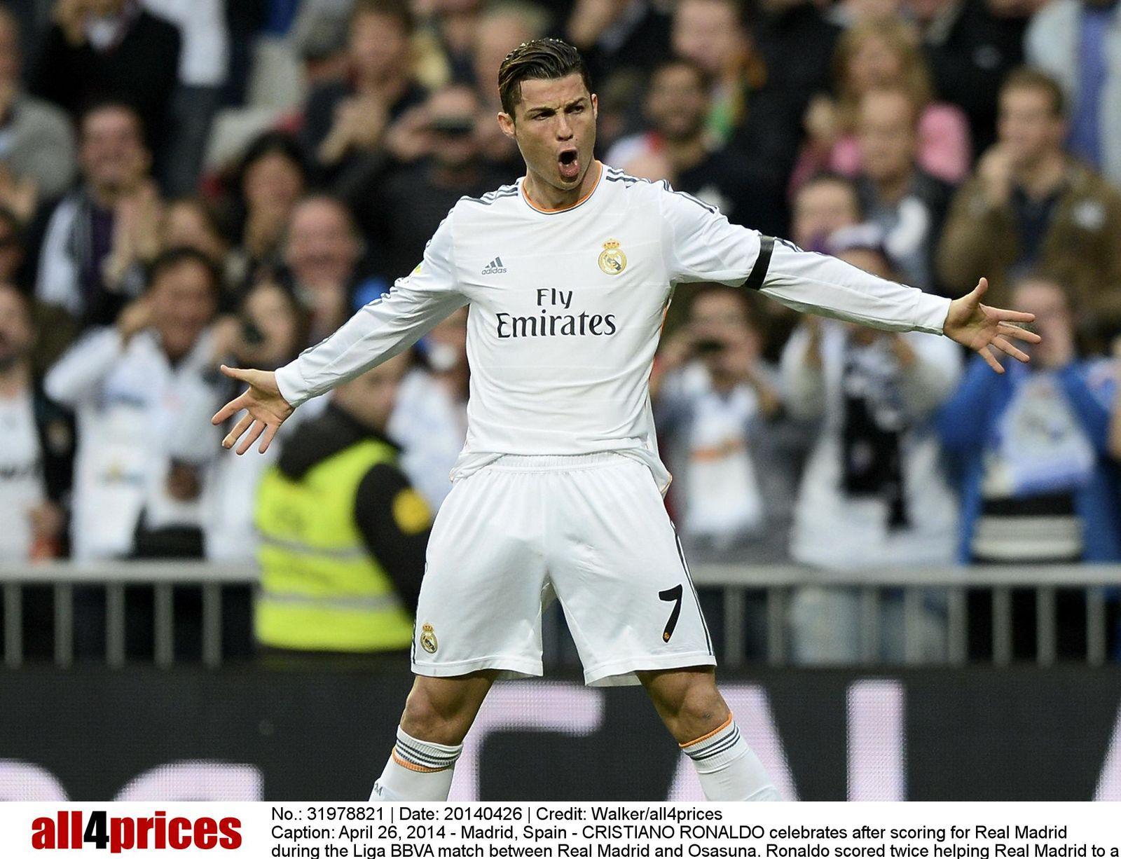 EINMALIGE VERWENDUNG NUR FÜR SPIEGEL Plus SP 23/2017 Christiano Ronaldo STARTBILD