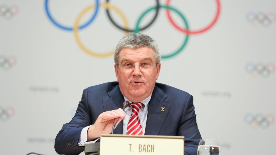 IOC-Präsident Bach: Pauschale für ehrenamtliche Tätigkeit