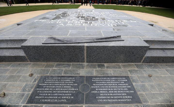 Gedenkstätte nahe der nordfranzösischen Stadt Compiègne